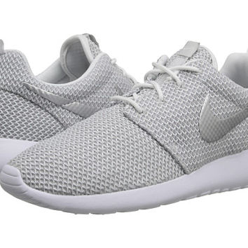 Nike Roshe Run White Metallic Platinum - Zappos.com Free Shipping BOTH Ways 305b56fe4367