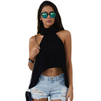 Tiara Club Off Shoulder Crop Top