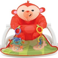 Fisher Price Sit-Me-Up Floor Seat - Monkey - Free Shipping