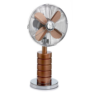 Deco Breeze DBF5428 Table Fan - Devo Copper