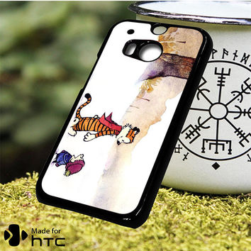 Calvin And Hobbes Comic HTC One M7 Case One M8 Case One M9 (Plus) Case One M10 Case