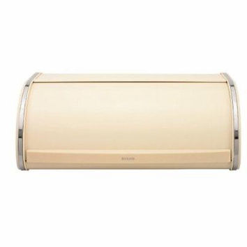 Brabantia Roll Top Bread Bin in Almond