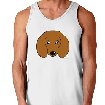 Cute Doxie Dachshund Dog Loose Tank Top  by TooLoud