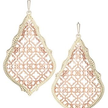 Adair Earrings in Rose Gold - Kendra Scott Jewelry