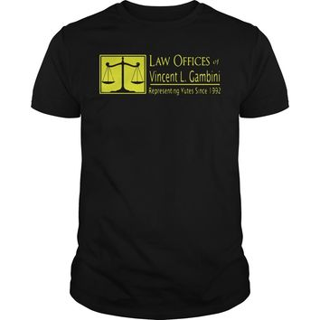 Law Offices of Vincent L Gambini youth tee Guys Tee