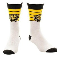 Power Rangers White Ranger Crew Sock