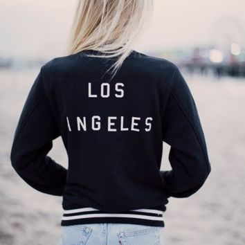 ELANA LOS ANGELES BOMBER JACKET