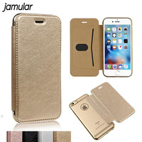 PU Leather Case For Samsung Galaxy J5 J7 A3 A5 A7 2016 Note 5 4 S6 S7 Edge Clear Cover Wallet For iPhone X 8 6 6s 7 Plus 5s SE
