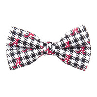 Alabama Crimson Tide NCAA Houndstooth Mens Bow Tie