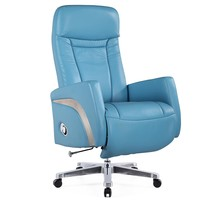 Mason Office Chair Recliner, Light Blue