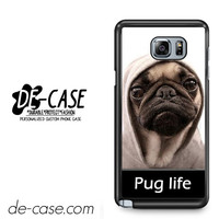 New Design Funny Hilarious Pug Life Parody Fans For Samsung Galaxy Note 5 Case Phone Case Gift Present