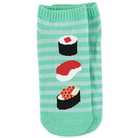 Striped Sushi Ankle Socks
