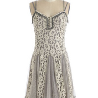 Boho Mid-length Spaghetti Straps Reverie Time Dress