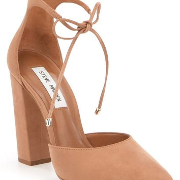Steve Madden Pampered Pointed-Toe Tie Closure Pumps | Dillards