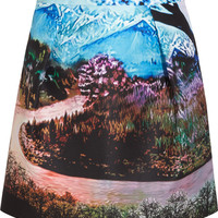 Mary Katrantzou | Tullie printed twill skirt | NET-A-PORTER.COM