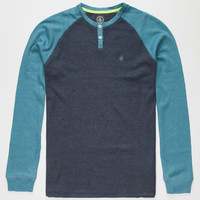 Volcom Henry Boys Thermal Blue Combo  In Sizes