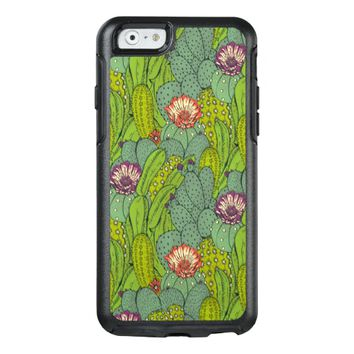 Cactus Flower Pattern OtterBox Apple iPhone 6 Case