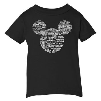 Name That Disney Character Youth Mickey Park Tee