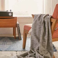 Marley Two-Toned Throw Blanket