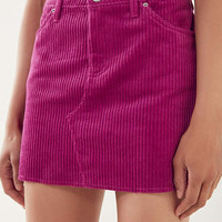 BDG Frayed Corduroy Mini Skirt | Urban Outfitters
