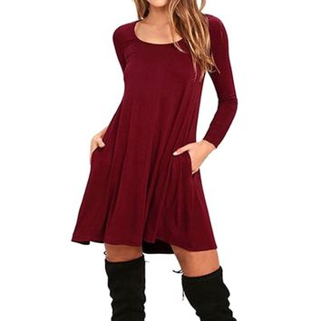 Autumn Maternity Dresses Clothes Fashion Pregnancy Dress For Pregnant Women Winter Dresses Maternity Clothing Mummy Clothes