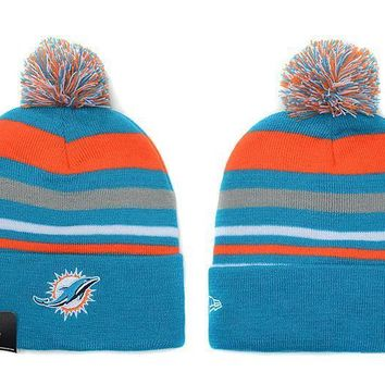 ESBON Miami Dolphins Beanies New Era NFL Football Hat