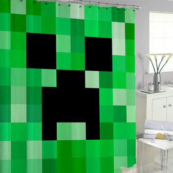 Minecraft Shower Curtains
