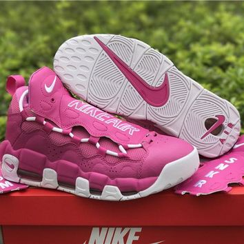 Sneaker Room x Nike Air More Money QS Pink/White Shoe 36--45