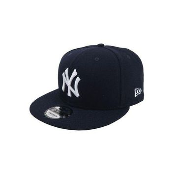 DCK4S2 NEW ERA Baycik Snap Baseball 950 Snapback New York Yankees Midnight Navy Blue