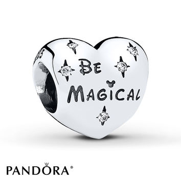 PANDORA Charm Disney, Be Magical Sterling Silver
