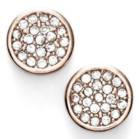 Women's Anne Klein Pave Stud Earrings