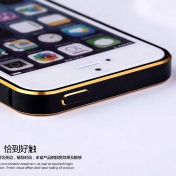 2017 new For iPhone5s Case new ultra-thin frame for iPhone5 aluminum metal shell accessories mobile phone sets Cas for iPhone 5s