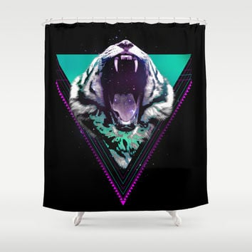 The Master of the Universe Shower Curtain by Robert Farkas