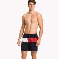 Flag Mid-Length Swim Trunk | Tommy Hilfiger