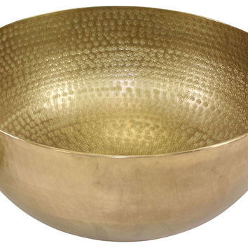 Elegant Brass Medium Centerpiece, Decorative Bowls & Centerpieces