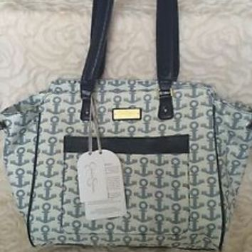 NWT Jessica Simpson Anchor Weekender Luggage Tote