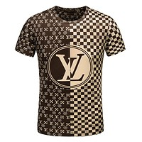 Men & Boys Louis Vuitton T-Shirt Top Tee