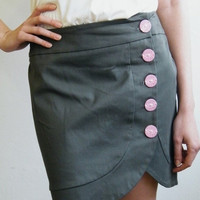 Olive skirt for the unique girl by MyLolaFashion on Etsy