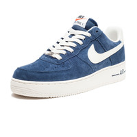 NIKE AIR FORCE 1 LOW SUEDE - NAVY   Undefeated