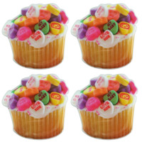 CANDY HEART CUPCAKE COASTERS