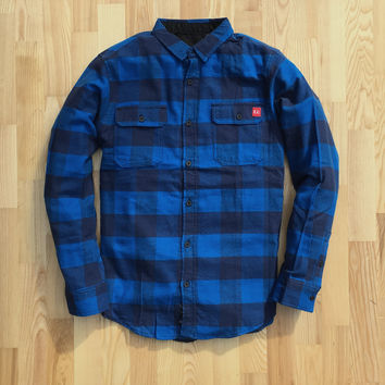 Madrona Flannel Blue