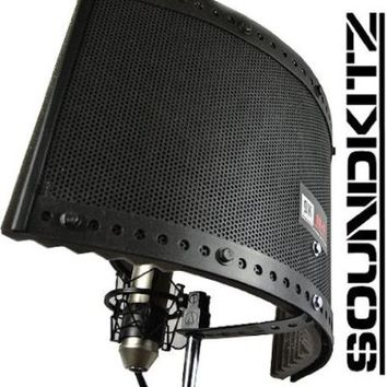 Soundkitz - Recording Studio Vocal Booth Sound Isolation and Reflection Filter