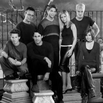 """Buffy The Vampire Slayer Poster Black and White Poster 16""""x24"""""""