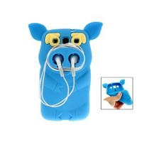 Silicone Cute Pirate Pig Case Cover Skin for Samsung Galaxy S3 i9300