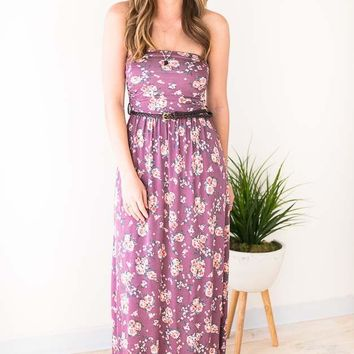 Beauty Marked Vintage Floral Maxi Dress