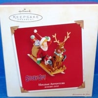 2003 Holiday Adventure Hallmark Scooby Doo Retired Ornament
