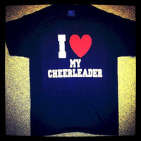 I Heart My Cheerleader by ThingsToCheerAbout on Etsy