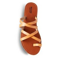 Women's Lina Slide Sandals - Mossimo Supply Co.™ Brown 8