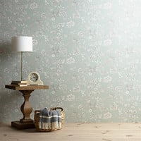 Buy John Lewis Nightingales Wallpaper | John Lewis
