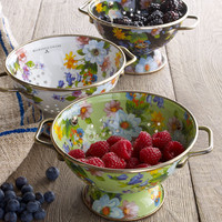 Small Flower Market Colander - MacKenzie-Childs